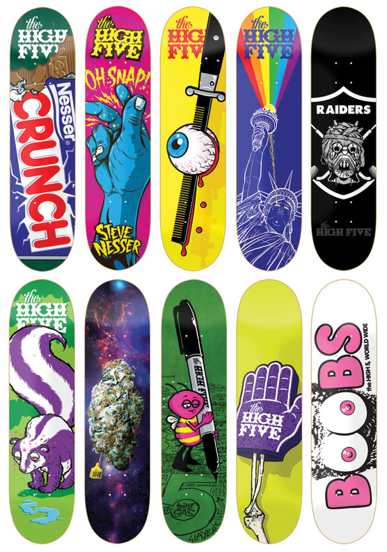 meet todd bratrud and the high five skateboard company